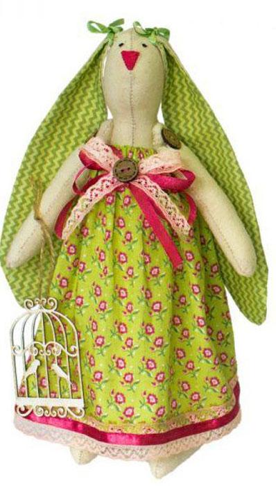 """Набор для изготовления текстильной игрушки Кустарь """"Зайка Полина"""", высота 29 см"""