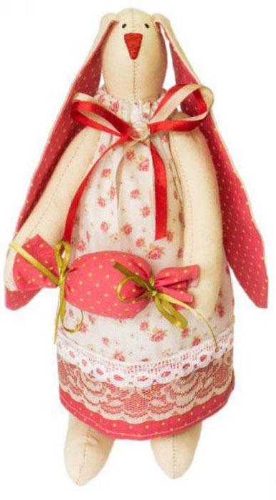 Набор для изготовления текстильной игрушки Кустарь Зайка Ольга, высота 29 см