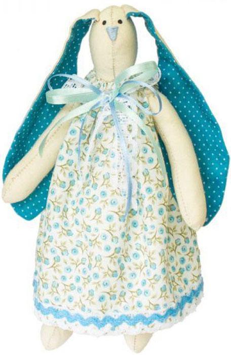 Набор для изготовления текстильной игрушки Кустарь Зайка Ася, высота 29 см