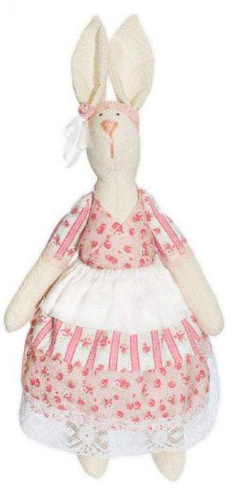Набор для изготовления текстильной игрушки Кустарь Зайка Дуся, высота 29 см