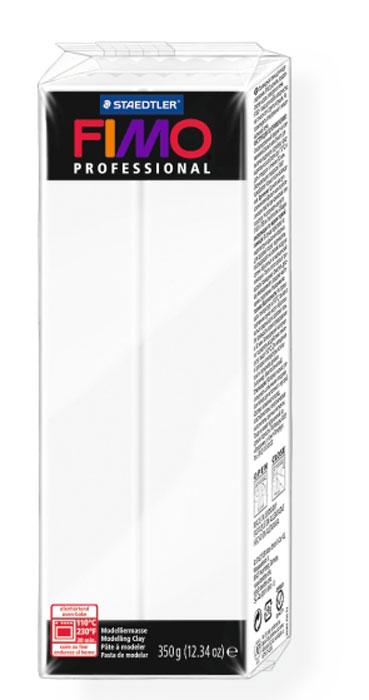 """Глина полимерная Fimo """"Professional"""", цвет: белый, 350 г"""