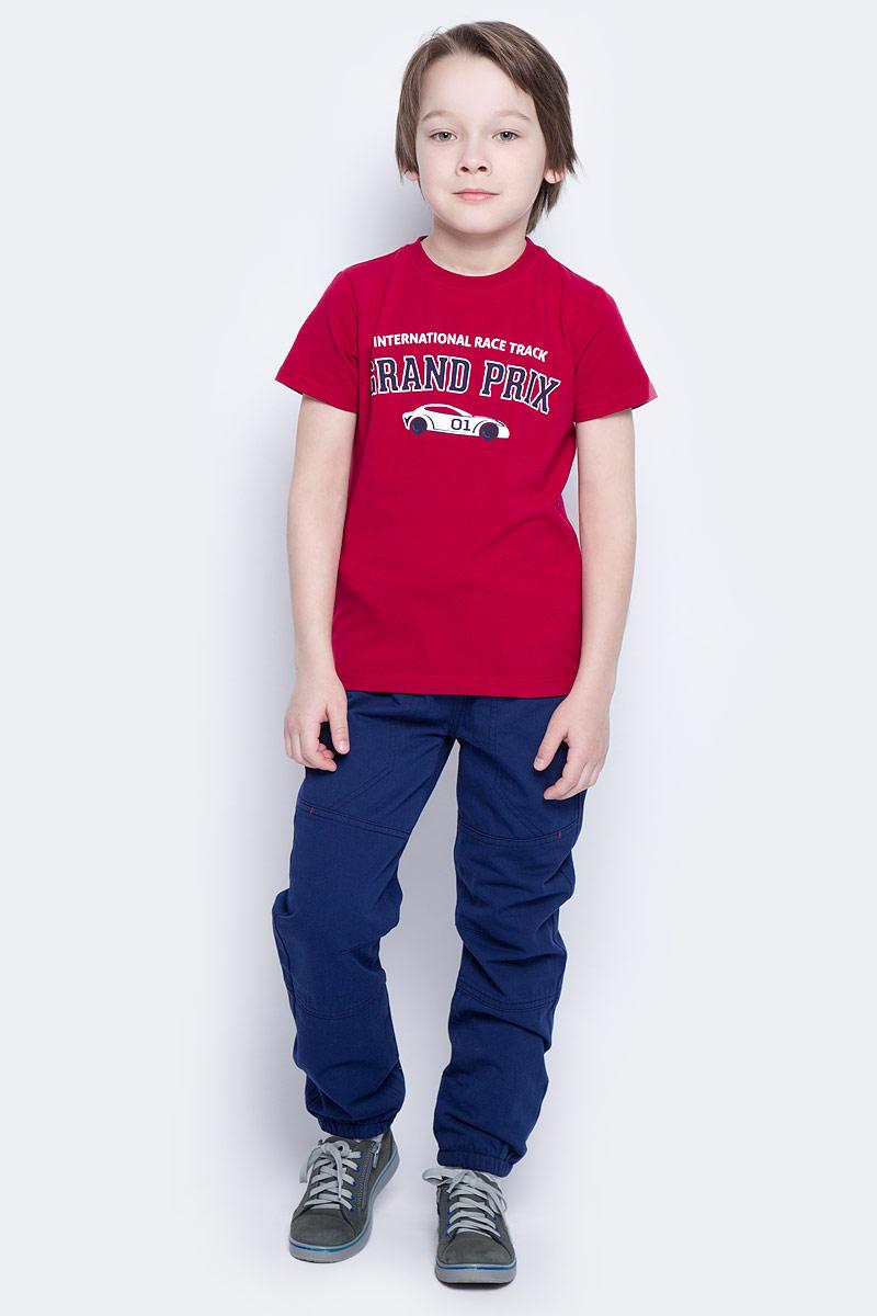 Брюки для мальчика PlayToday, цвет: темно-синий, светло-серый. 171010. Размер 98 дутики mon ami mon ami mo151awbzae4