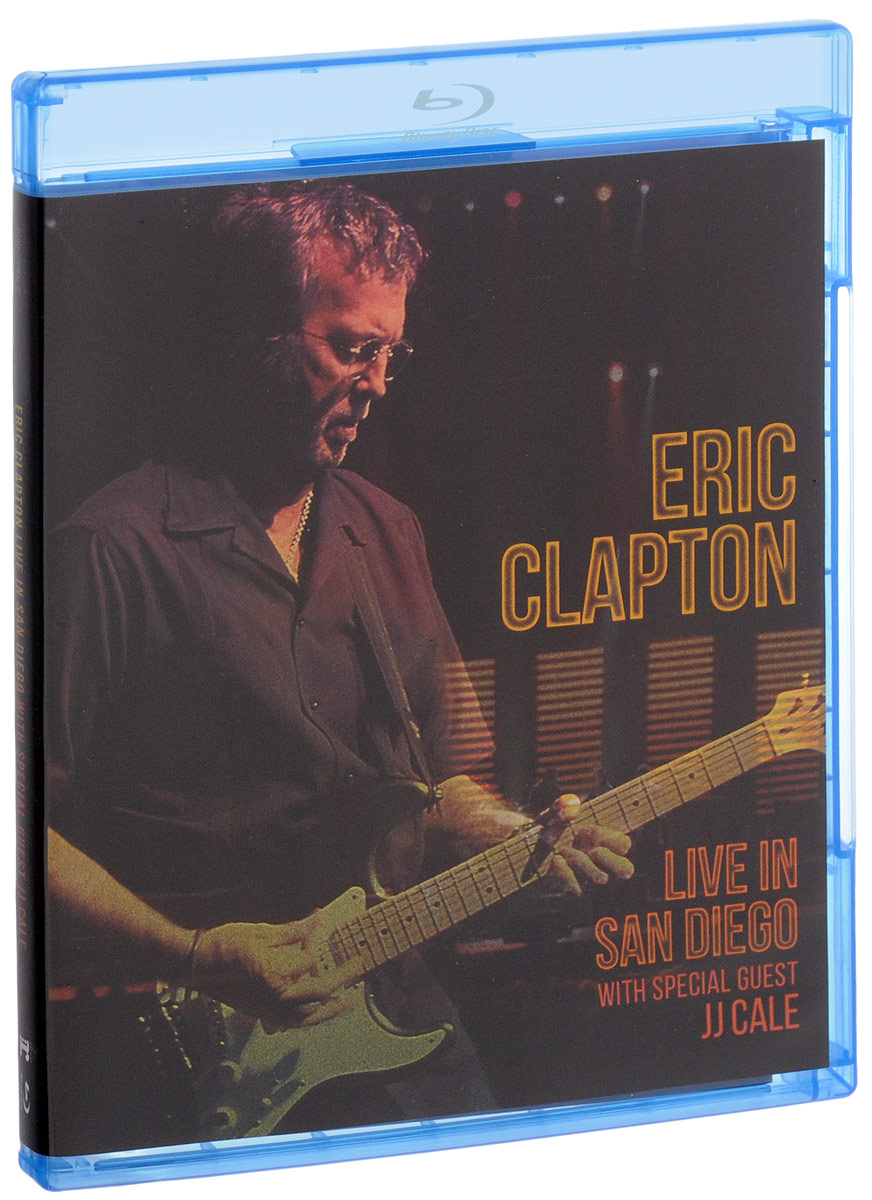 Eric Clapton: Live In San Diego: With Special Guest Jj Cale (Blu-ray)