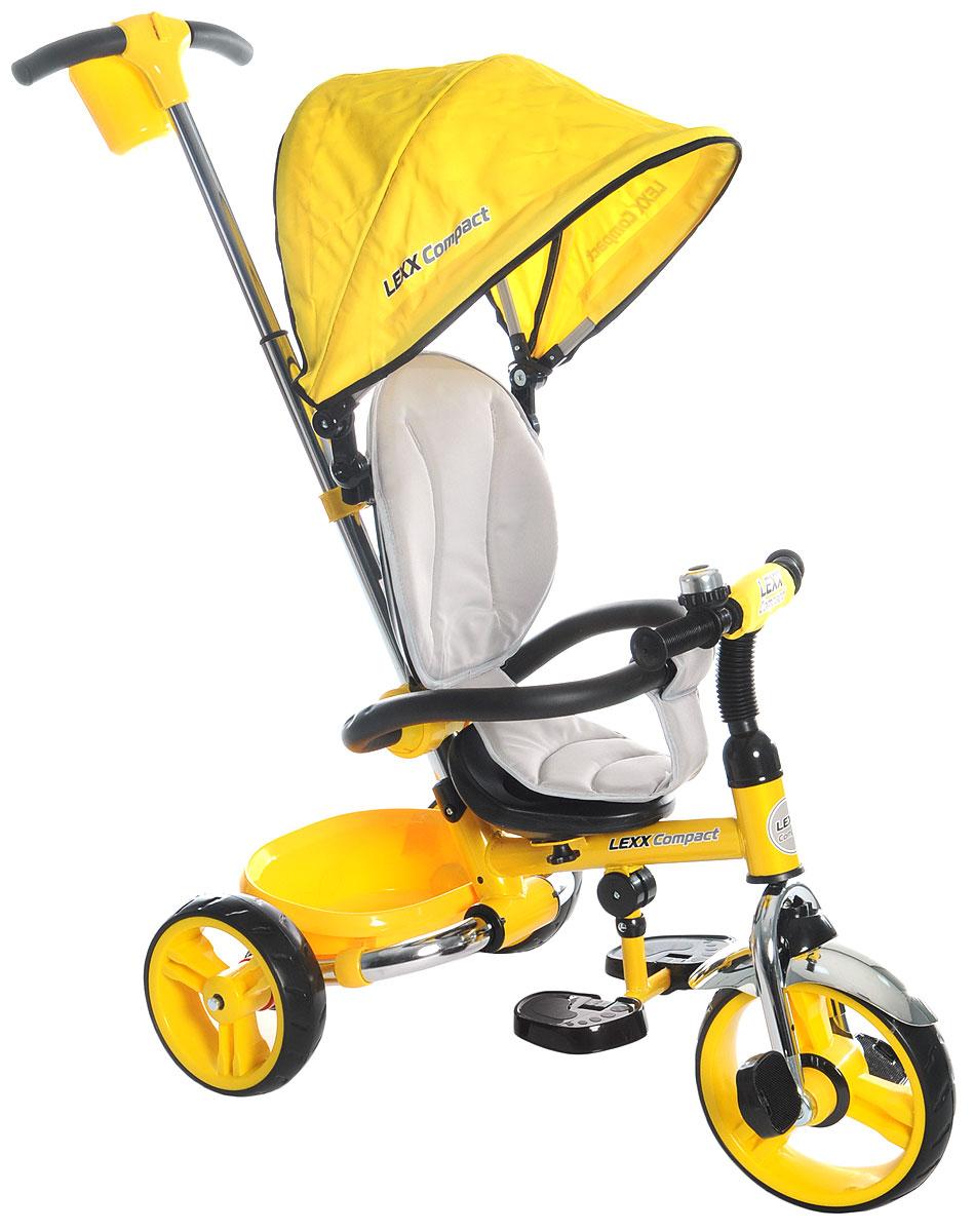 GT Велосипед-каталка GT8761 Lexx Compact цвет желтый - Велосипеды-каталки