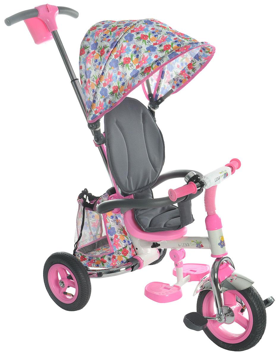 GT Велосипед-каталка GT8766 Lexx Flora цвет розовый - Велосипеды-каталки