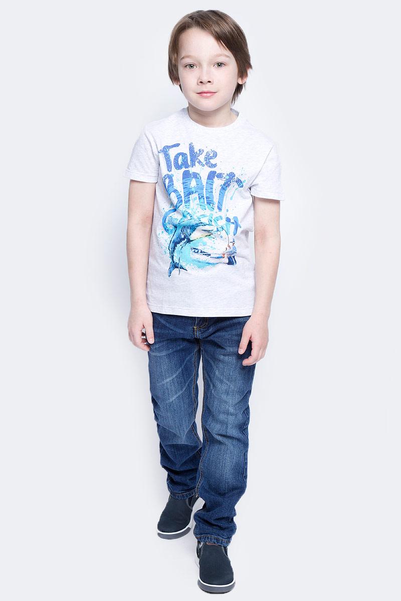 Джинсы для мальчика Sela Denim, цвет: синий джинс. PJ-835/342-7121. Размер 116, 6 летPJ-835/342-7121Стильные джинсы для мальчика Sela выполнены из качественного эластичного хлопка с эффектом потертостей. Джинсы прямого кроя и стандартной посадки на талии застегиваются на пуговицу и имеют ширинку на застежке-молнии. На поясе имеются шлевки для ремня. Модель представляет собой классическую пятикарманку: два втачных и один маленький накладной кармашек спереди и два накладных кармана сзади.