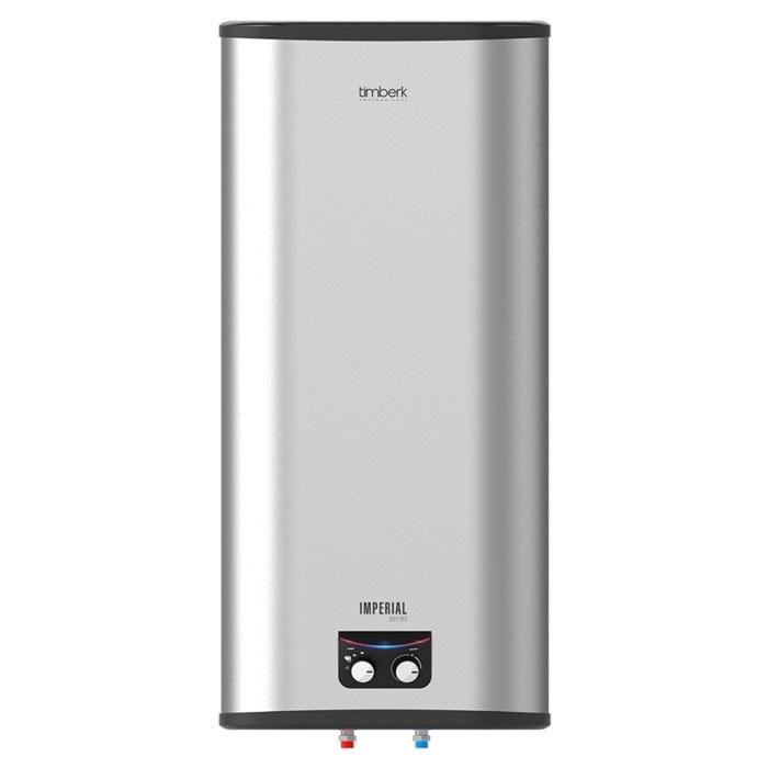 Timberk SWH FSM3 50 VH, 50 л накопительный водонагревательSWH FSM3 50 VHВодонагреватель Timberk (Тимберк) SWH FSM3 50 VH является наиболее рациональным вариантом для тех пользователей, у которых в доме периодически возникают сложности с осуществлением горячего водоснабжения. Это также относится к тем, у кого полностью отсутствует какая-либо возможность для подключения к системе горячего водоснабжения. Накопительный водонагреватель, как и проточный - это достаточно сложная система,установку которой для большей надежности рекомендуется доверять только специалистам.Особенности и преимущества электрических накопительных водонагревателей Timberk серии Imperial:- Внешний корпус водонагревателя выполнен из фактурного пластика Titan, с эффектом нержавеющей стали- Дополнительное преимущество: универсальный тип монтажа - можно установить водонагреватель как горизонтально, так и вертикально- Интеллектуальная система двухцветной индикации панели управления SMART LIGHTS позволяет визуально контролировать работу водонагревателя, определять установленный режим работы. Сочетание модной голубой и ярко-красной подсветки - авторское решение дизайнеров Timberk- Надежный медный нагревательный элемент мощностью 2500 Вт, с дополнительным защитным покрытием, гарантирует увеличенный срок службы водонагревателя- С заботой о потребителе - дополнительная опция! Три ступени мощности нагрева воды: 1000 Вт, 1500 Вт, 2500 Вт.- Внутренние резервуары и все внутренние компоненты выполнены из нержавеющей стали SUS 304 (1,2 мм), что обеспечивает высочайшую надежность и защиту от коррозии, особенно в т.н. «агрессивной воде»- Равномерный нагрев воды происходит благодаря оптимизированной системе переливов между внутренними резервуарами- Система защиты 3D Logic®: DROP Defense - защита от протечки и избыточного давления внутри бака, SHOCK Defense - защита от утечки электрического тока (УЗО), HOT Defense - двухуровневая защита от перегрева- Высокий уровень энергоэффективности, благодаря слою высококачественн