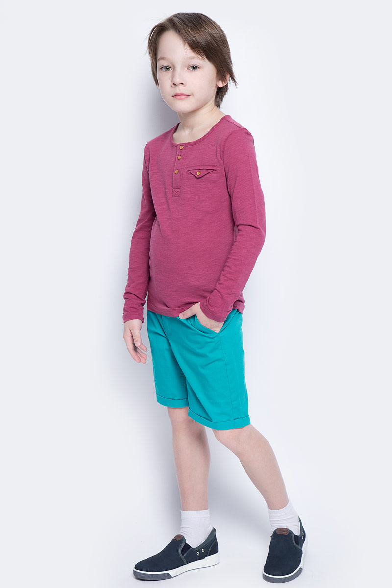 Шорты для мальчика Button Blue Main, цвет: бирюзовый. 117BBBC60022800. Размер 98, 3 года button blue шапка для мальчика button blue