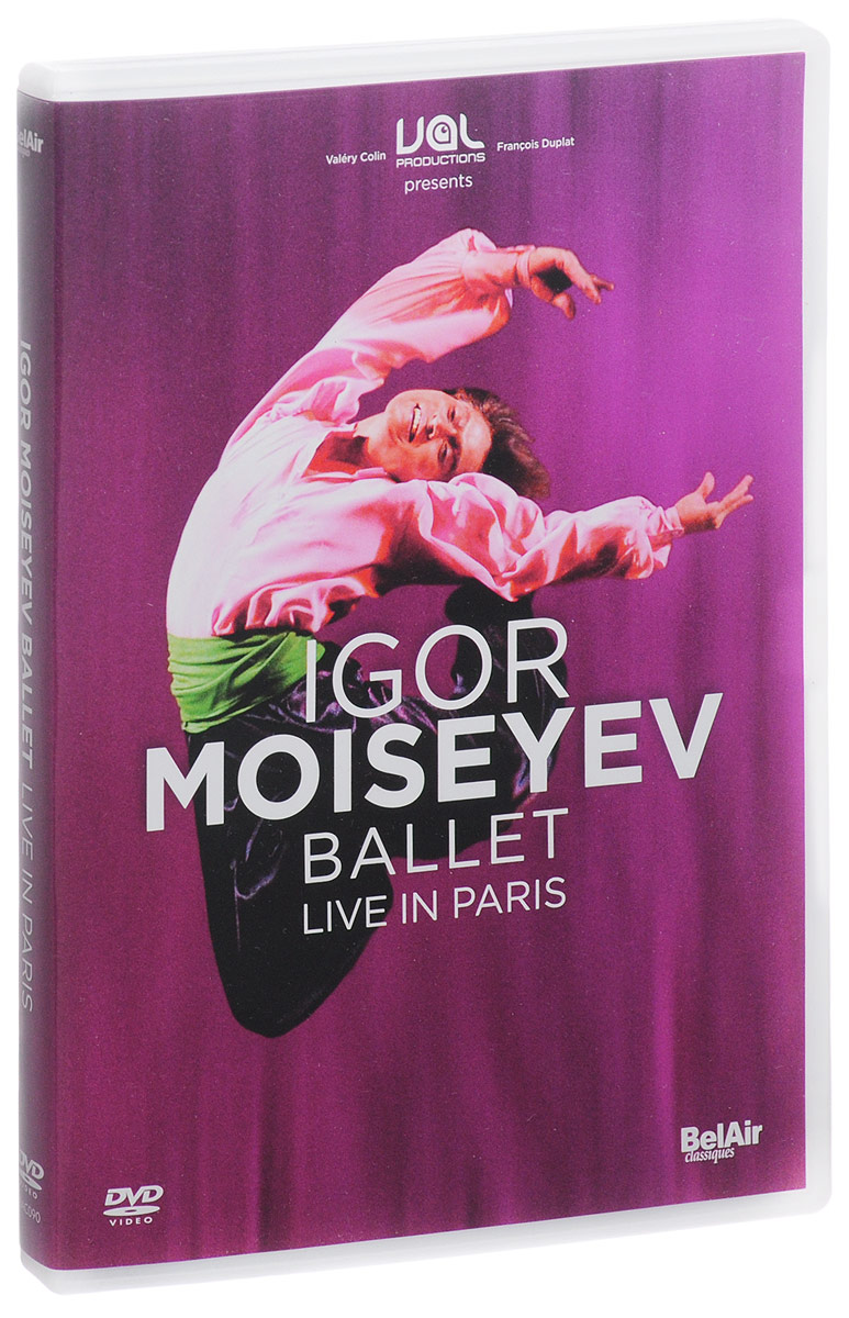 Igor Moisseiev Ballet: Live In Paris travels of the zephyr journey around the world