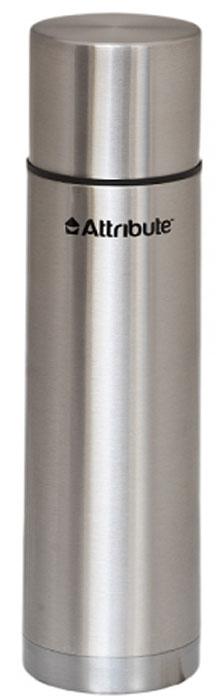 Термос Attribute Urban, с узкой горловиной, цвет: серый, 750 млAVF302Термос Attribute Urban - это незаменимый аксессуар для тех людей, чья жизнь проходит в постоянном движении. Благодаря узкому горлу он подойдет для горячих и холодных напитков. Его корпус выполнен из нержавеющей стали, обеспечивающим комфортное использование в морозную погоду. Кроме того, отличная вакуумная теплоизоляция данной модели способна сохранять температуру содержимого в горячем состоянии до 10 часов, а в холодном до 16 часов.