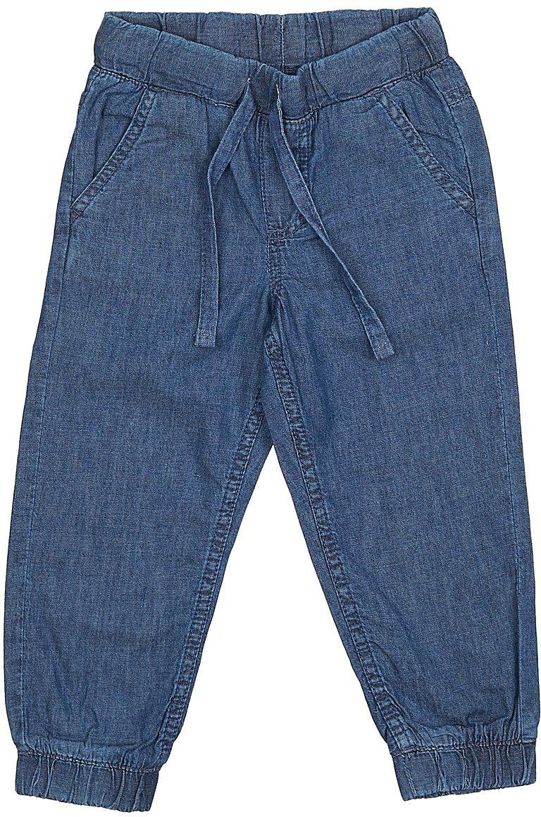 Джинсы для мальчика Sela Denim, цвет: синий джинс. PJ-735/097-7213. Размер 110, 5 летPJ-735/097-7213Стильные джинсы для мальчика Sela выполнены из натурального хлопка. Джинсы свободного кроя и стандартной посадки на талии имеют широкий пояс на мягкой резинке, дополнительно регулируемый тесьмой. Модель дополнена двумя втачными карманами спереди и накладным карманом сзади. Низ брючин собран на резинку.