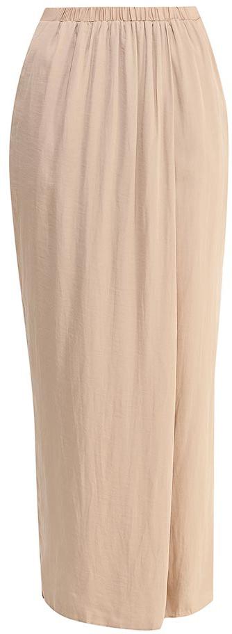 Брюки с запахом женские Sela, цвет: тепло-бежевый. P-115/830-7224. Размер 44P-115/830-7224Стильные брюки с запахом Sela, изготовленные из качественного легкого материала, станут отличным дополнением гардероба в летний период. Брюки свободного кроя и стандартной посадки на талии имеют широкий пояс на мягкой резинке и дополнены двумя втачными карманами.