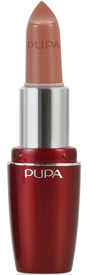 PUPA Губная помада Pupa Volume, тон 100 телесный , 3.5 мл.00235100Помада Pupa Volume разработана как сочетание эффективного средства по уходу, способствующего увеличению объема губ и идеального средства для макияжа, благодаря которым работа над красотой будет полностью завершена. Сразу же насыщенный цвет, четко подчеркнутые и необычайно блестящие губы. С самых первых дней применения Pupa Volume способствует увеличению объема и увлажненности губ. Увеличение на 5% уже через 10 минут после первого использования и на 12% после 7 дней использования.. Дерматологически протестирована. Характеристики: Объем: 3,5 мл. Тон: №100 (телесный). Размер упаковки: 3,6 см x 2,5 см x 9,3 см. Изготовитель: Италия. Артикул:00235100. Товар сертифицирован. Pupa - итальянский бренд, принадлежащий компании Micys. Компания была основана в 1970-х годах в Милане и стала любимым детищем семьи Гатти. Pupa - это декоративная косметика для тех, кто готов экспериментировать, создавать новые образы и менять свой стиль в поисках новых проявлений своей индивидуальности. Яркие цвета Pupa воплощают в себе особенное видение красоты как многогранного сочетания чувственности и эпатажа, нежности и дерзости, изысканности и простоты. Pupa не забывает и о здоровье, прежде всего - здоровье кожи. Составы косметики Pupa тщательно тестируются на безопасность для кожи и постоянно совершенствуются по мере появления новых научных разработок.
