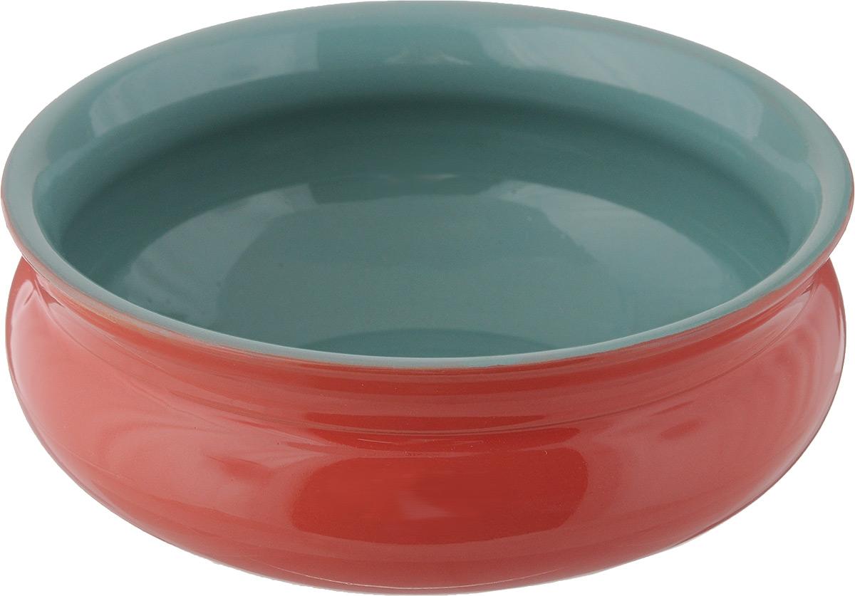 Тарелка глубокая Борисовская керамика Скифская, цвет: красный, бирюзовый, 800 млРАД14457937_красный, бирюзовыйГлубокая тарелка Борисовская керамика Скифская выполнена из высококачественной керамики. Изделие сочетает в себе изысканный дизайн с максимальной функциональностью. Она прекрасно впишется в интерьер вашей кухни и станет достойным дополнением к кухонному инвентарю.Тарелка Борисовская керамика Скифская подчеркнет прекрасный вкус хозяйки и станет отличным подарком.Можно использовать в духовке и микроволновой печи.Диаметр тарелки (по верхнему краю): 16 см. Высота стенки: 6,5 см.Объем: 800 мл.