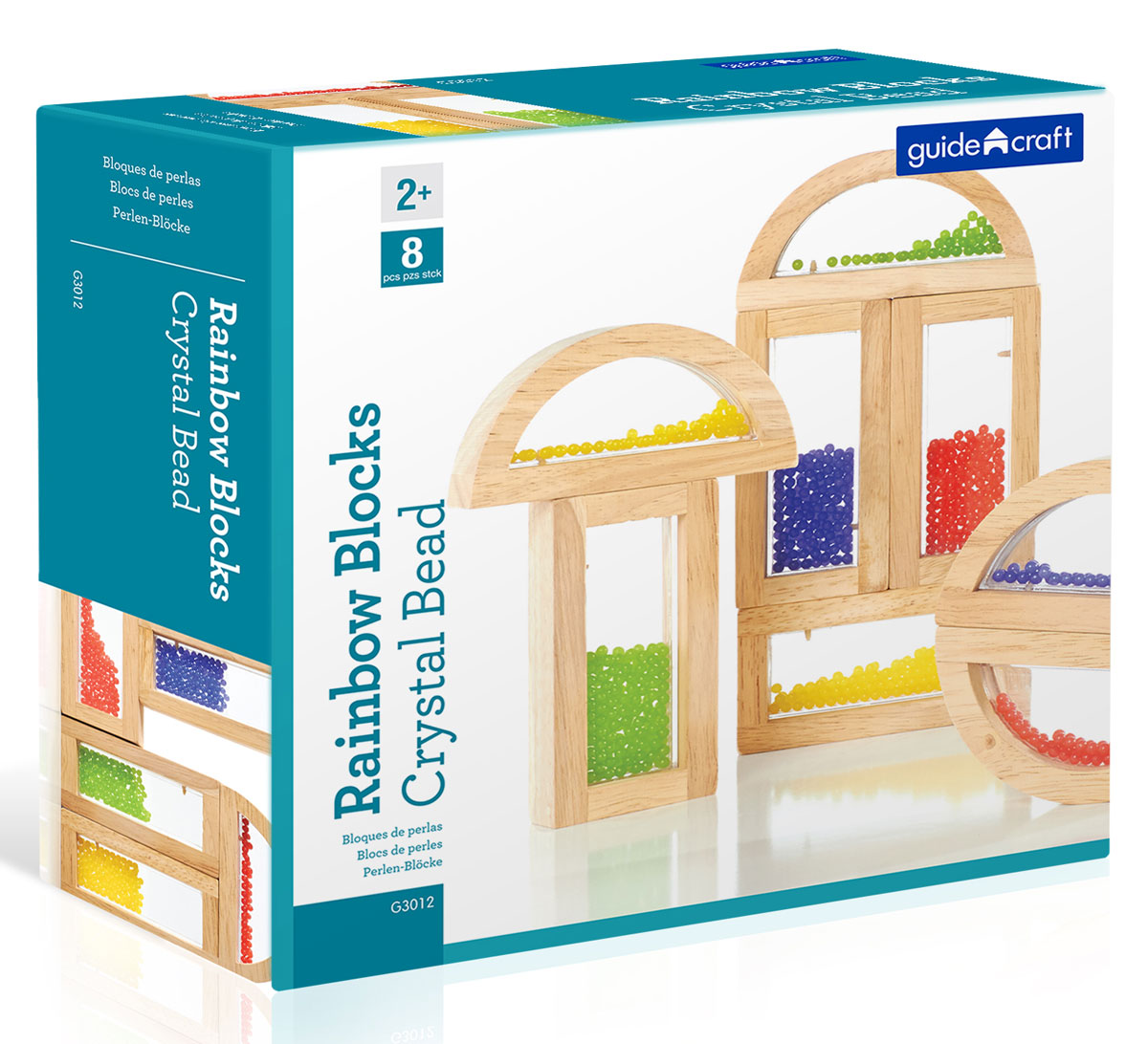 Guide Craft Конструктор Rainbow Blocks Crystal Bead