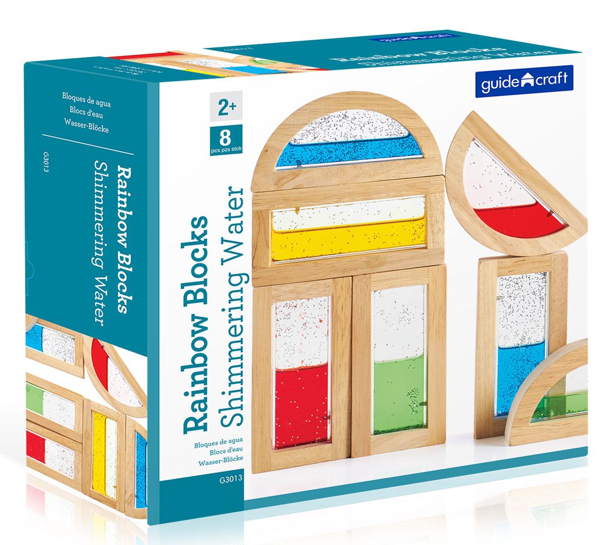Guide Craft Конструктор Rainbow Blocks Shimmering Water
