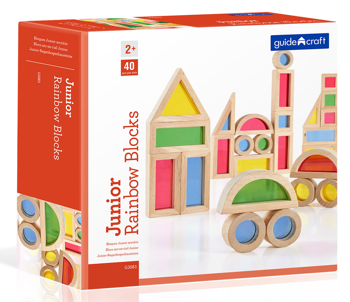 Guide Craft Конструктор Junior Rainbow Blocks