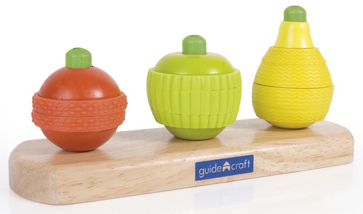 GuideCraft Сортер Fruit Stacking сортеры guidecraft сортер по весу weight cylinders