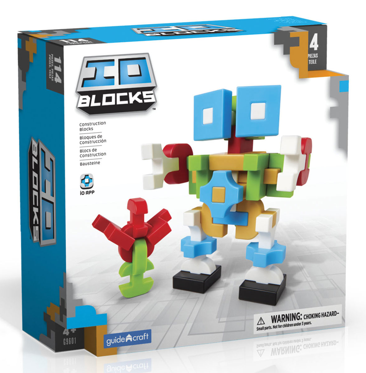 GuideCraft Конструктор IO Blocks G9601 конструктор guidecraft io blocks minis 425 дет g9612