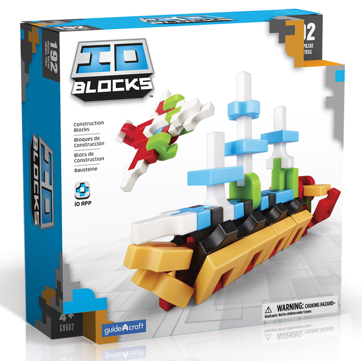 GuideCraft Конструктор IO Blocks G9602 конструктор guidecraft io blocks minis 425 дет g9612