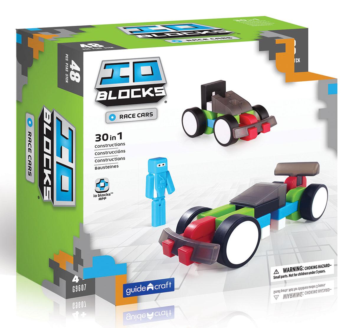 GuideCraft Конструктор IO Blocks Гоночные машины экономичность и энергоемкость городского транспорта