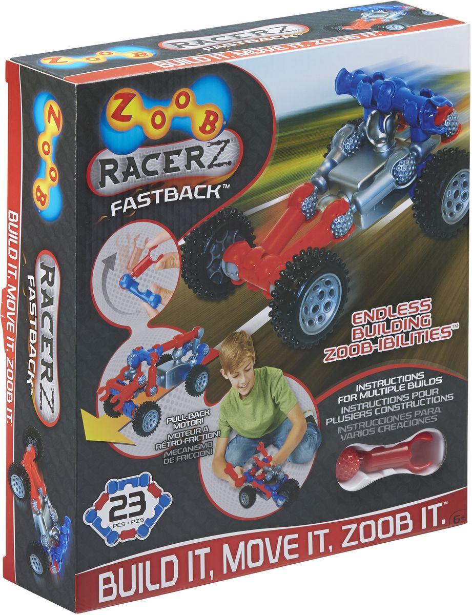 Zoob Racer Z Конструктор Fastback конструкторы zoob подвижный конструктор zoob с инерционным механизмом oz12055