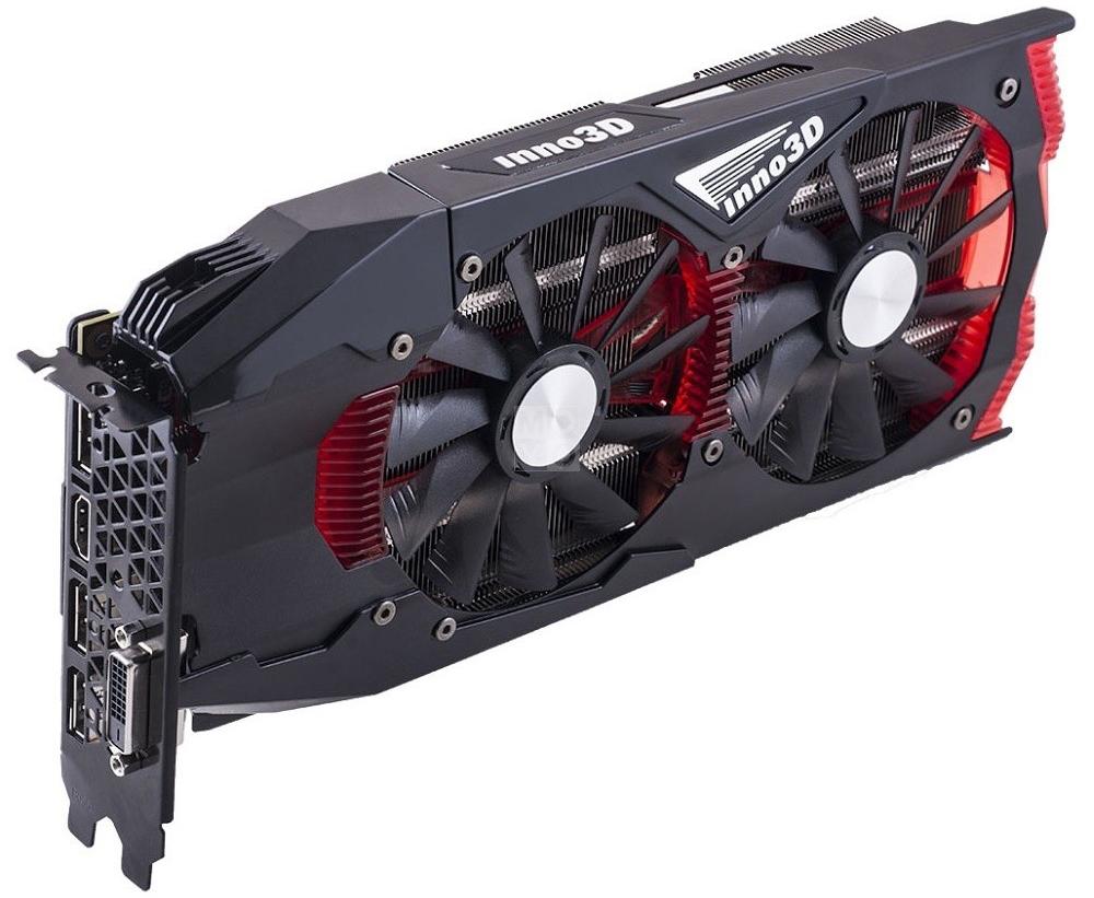 Inno3D GeForce GTX 1080 Gaming OC 8Gb видеокарта (N1080-1SDN-P6DNX)N1080-1SDN-P6DNXВидеокарта Inno3D GeForce GTX 1080 Gaming OC оснащена инновационными игровыми технологиями, что делает ее идеальном выбором для самых современных игр в высоком разрешении. Создана на основе архитектуры NVIDIA Pascal, самой технически продвинутой архитектуры GPU из когда-либо созданных. Она обеспечивает высочайшую производительность, которая открывает дорогу к VR-играм и другим возможностям.Технически продвинутая архитектура графических процессоров, обеспечивает революционную производительность, инновационные технологии и захватывающие VR возможности нового поколения. Великолепный геймплей с захватывающей графикой и звуковым сопровождением гарантирует совершенно новый уровень игрового процесса.Откройте для себя новое поколение виртуальной реальности, минимальные задержки и plug-and-play совместимость с самыми популярными гарнитурами. Все это становится возможным благодаря технологиям NVIDIA VRWorks. Виртуальный звук, физика и ощущения позволят вам слышать и чувствовать каждый момент.Система охлаждения видеокарты Inno3D GeForce GTX 1080 Gaming OC оснащена двумя вентиляторами 100 мм с уникальным дизайном лопастей, теплотрубками, технологией прямого контакта. Все это позволяет получить эффективный уровень теплорассеивания для высокопроизводительной системы с низкой температурой.Мощная видеокарта требует мощного основания. Графическая карта Inno3D GeForce GTX 1080 Gaming OC оснащается мощной металлической пластиной бэкплейт, что добавляет видеокарте жесткости.