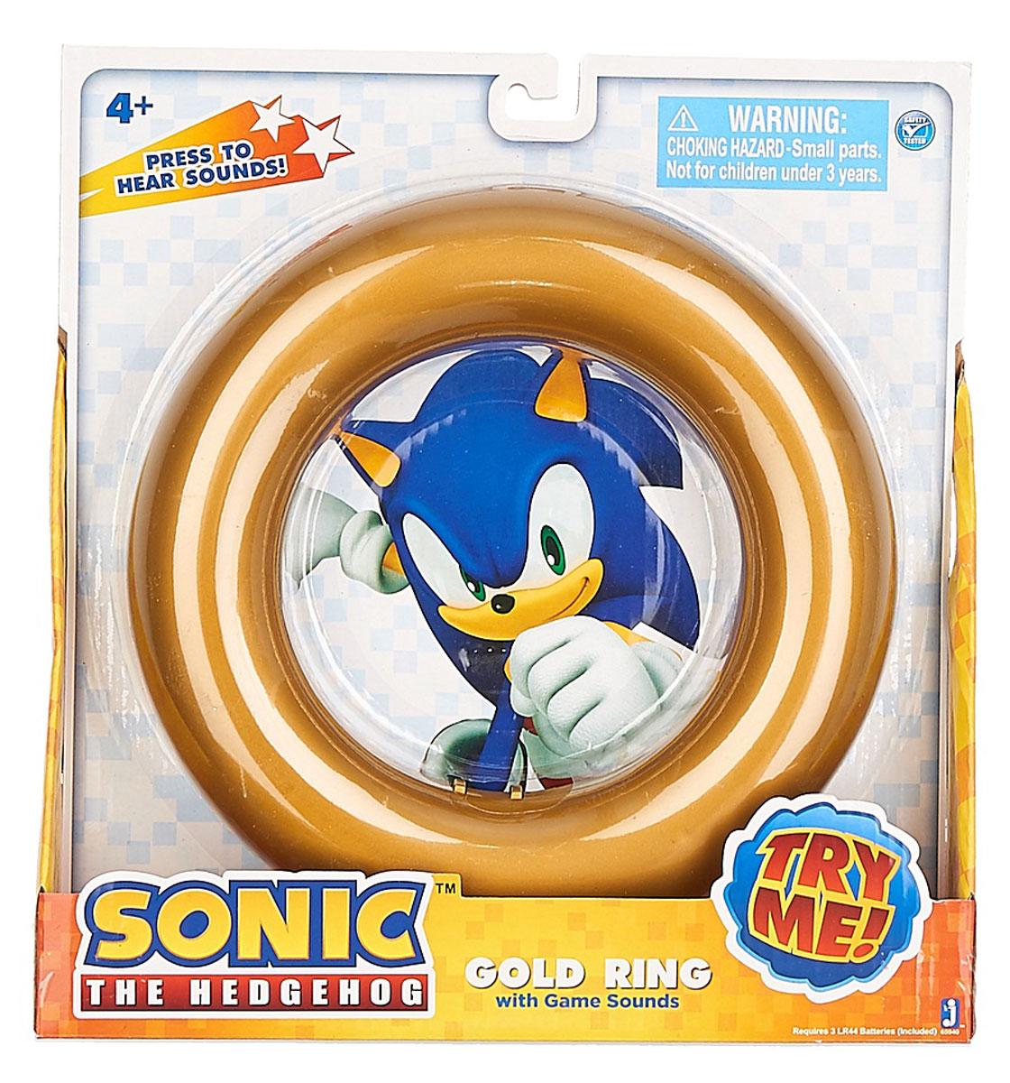 Sonic Музыкальная игрушка Gold Ring
