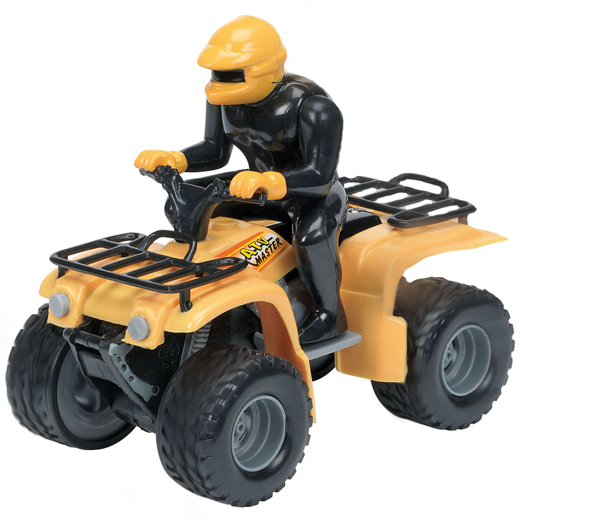 Dickie Toys Квадроцикл инерционный цвет желтый dickie toys dickie toys гараж с машинками