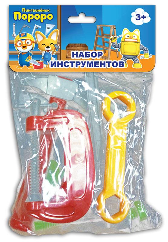 1TOY Игровой набор инструментов Пингвиненок Пороро 9 предметов набор инструментов квалитет нир 104