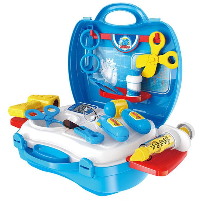 1TOY Игровой набор Профи Доктор 18 предметов игровой набор в чемоданчике салон красоты для собак 16 предметов 1toy 1toy