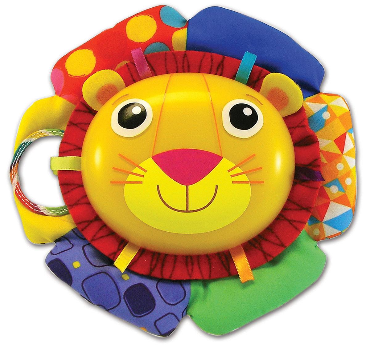 Lamaze Мягкая озвученная игрушка Лев Логан музыкальная игрушка tomy lamaze лев логан то27159
