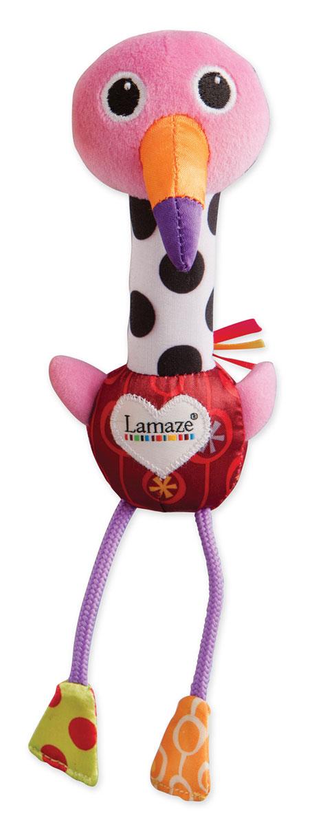 Lamaze Игрушка-пищалка Веселый розовый Фламинго сандали для мальчика фламинго