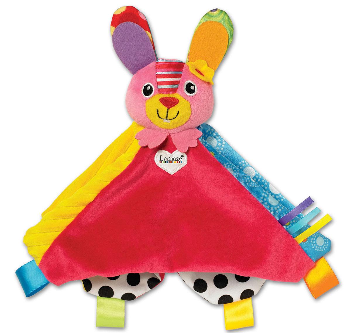 Lamaze Развивающая игрушка Зайка Белла погремушки tomy погремушка зайка белла