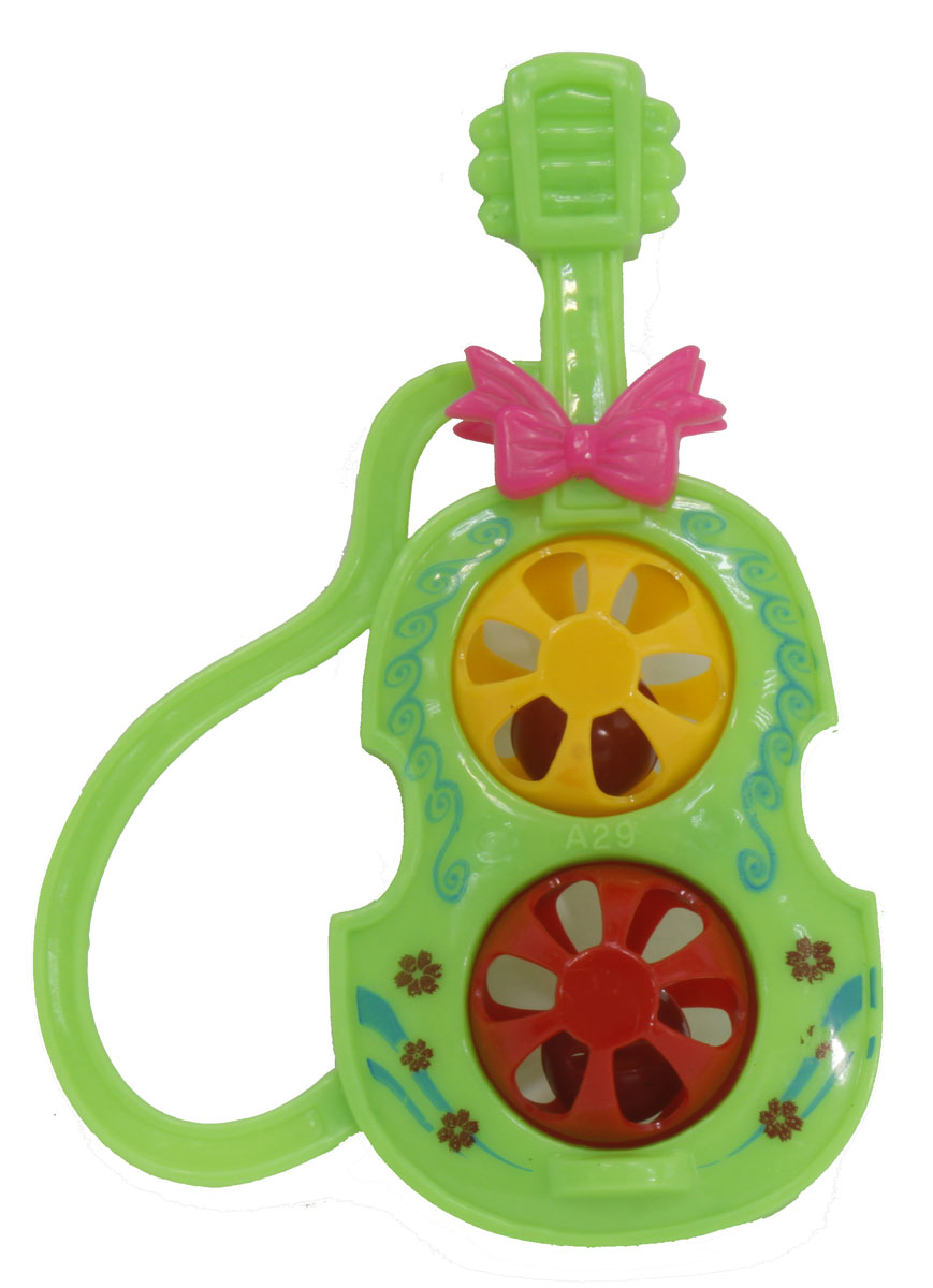 Тилибом Музыкальный инструмент Гитара цвет зеленый, 1TOY
