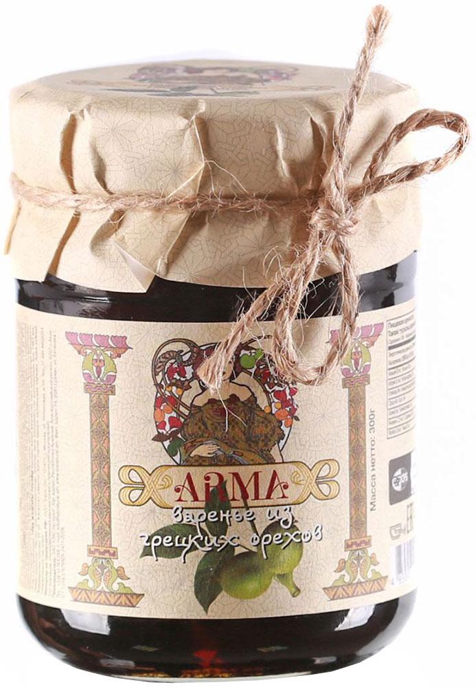 ARMA Варенье из грецких орехов, 300 г arma икра баклажанная 470 г