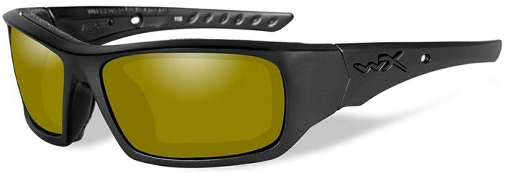 Очки солнцезащитные WileyX Arrow Polarized, для охоты, рыбалки и активного отдыха, цвет: YellowCCARR11Пара очков WileyX Arrow Polarized с крутым характером - матовая черная оправа в сочетании с поляризованными желтыми линзами. Поляризованные желтые линзы обеспечивают максимальную четкость в условиях низкой освещенности и блокируют ослепляющий свет при сохранении резкости. Очки идеально подходят для рыбалки, охоты и стрельбы и других видов активного отдыха. Линзы Wiley X, изготовленные из безосколочного поликарбоната с устойчивостью к царапинам, обеспечивают 100% УФ-защиту.Поляризационный фильтр 8ТМ - запатентованная WileyX технология поляризации линз обеспечивает 100% поляризацию и 100% защиту от ультрафиолетовых лучей для непревзойденной четкости и контрастности изображения.Защита от ударов на высокой скорости - оправа и линзы должны выдерживать удар тяжелого снаряда весом 500 г, падающего с высоты 127 см.Прочное покрытие - устойчивое к царапинам покрытие защищает линзы от механических повреждений и продлевает срок их службы.Антибликовое покрытие - антибликовое покрытие устраняет нежелательные отражения с поверхностей линз. Водоотталкивающее покрытие - водоотталкивающее покрытие обеспечивает скатывание воды с поверхности линз. Используется только на поляризационных линзах.Накладки FACIAL CAVITY™ - запатентованные защитные накладки защищают от ветра, механических обломков и периферийного освещения.