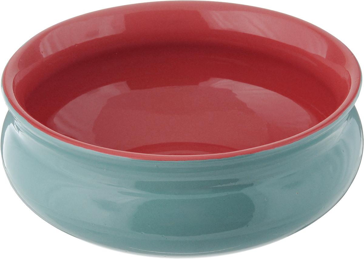 Тарелка глубокая Борисовская керамика Скифская, цвет: бирюзовый, красный, 800 млРАД14457937_бирюзовый, красныйГлубокая тарелка Борисовская керамика Скифская выполнена из высококачественной керамики. Изделие сочетает в себе изысканный дизайн с максимальной функциональностью. Она прекрасно впишется в интерьер вашей кухни и станет достойным дополнением к кухонному инвентарю. Тарелка Борисовская керамика Скифская подчеркнет прекрасный вкус хозяйки и станет отличным подарком. Можно использовать в духовке и микроволновой печи.Диаметр тарелки (по верхнему краю): 16 см.Объем: 800 мл.
