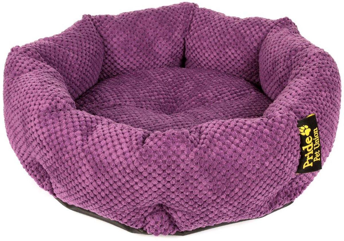 Лежак для животных Pride Ватрушка. Велюр, цвет: фиолетовый, 45 х 45 х 12 см10011331Лежак Pride Ватрушка. Велюр непременно станет любимым местом отдыха вашего домашнего животного. Изделие выполнено из полиэстера. Такой материал не теряет своей формы долгое время. На таком лежаке вашему любимцу будет мягко и тепло. Он подарит вашему питомцу ощущение уюта и уединенности.Размер: 45 х 45 х 12 см.