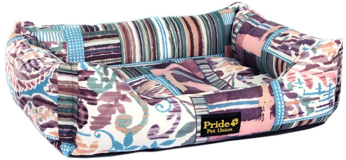 Лежак для животных Pride Дюна, 70 х 60 х 23 см10012382Лежак Pride Дюна непременно станет любимым местом отдыха вашего домашнего животного. Изделие выполнено из полиэстера. Такой материал не теряет своей формы долгое время. На таком лежаке вашему любимцу будет мягко и тепло. Он подарит вашему питомцу ощущение уюта и уединенности.