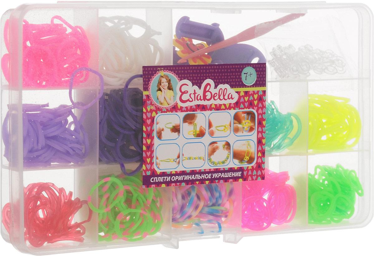 EstaBella Набор для плетения из резиночек Голубь Солнышко