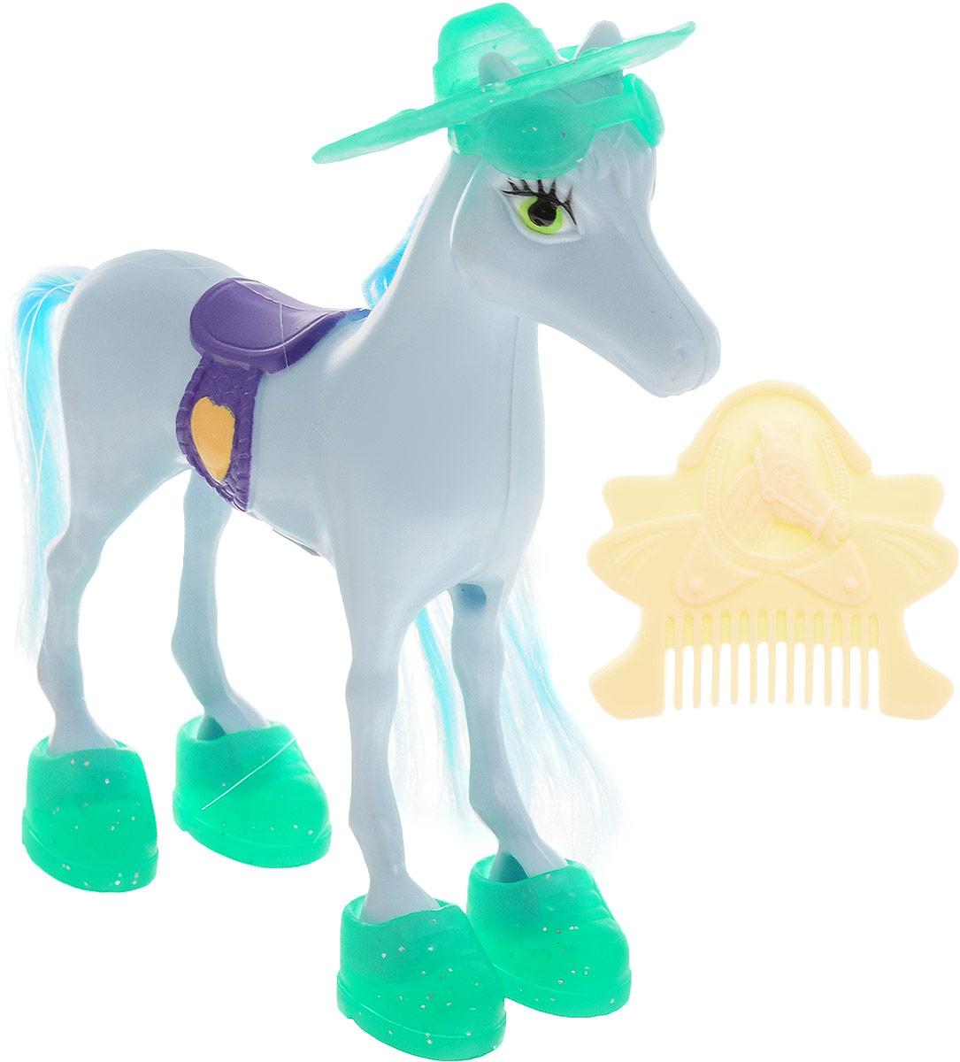 Simba Фигурка Волшебная лошадка цвет голубой