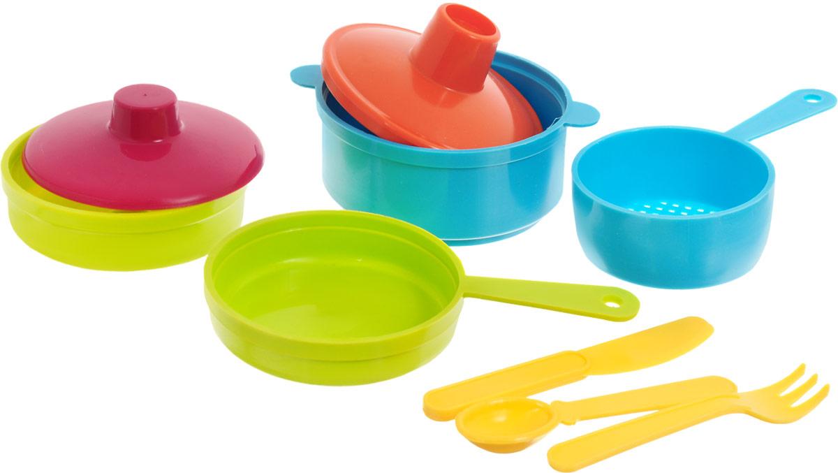 РосИгрушка Игрушечный набор посуды Рыбный день ролевые игры росигрушка набор посуды столовый рыбный день 9 деталей