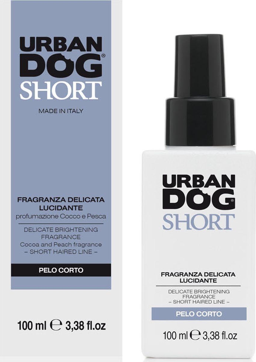 Ароматизатор Urban Dog для собак короткошерстных пород, кокос и персик, 100 млUD2002FLSНежный и дезодорирующий аромат, который не нарушает естественную регуляцию сальных желез и обоняние щенка. Отлично подходит в качестве средства для придания блеска шерсти.