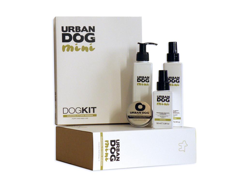 Набор  Urban Dog  для щенков и стареющих собак, 4 предмета - Средства для ухода и гигиены