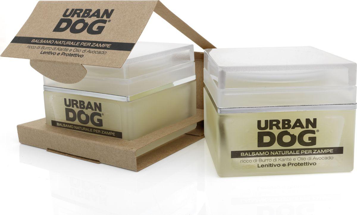 Бальзам для собак Urban Dog, для лап, смягчающее и защитное действие, с маслом карите и авокадо, 50 млUD4000BALMСмягчающий и защитный бальзам для лап.Масло карите, масло авокадо и чистейший пчелиный воск питают подушечки и защищают их от повреждений от дорожного покрытия. Отлично подходит в качестве изолирующего средства в зимний период.Витамин Е уменьшает боль от мелких ран или порезов. Бальзам не содержит петролаты, он настолько натурален и экологичен, что ваш питомец может слизывать его без проблем.