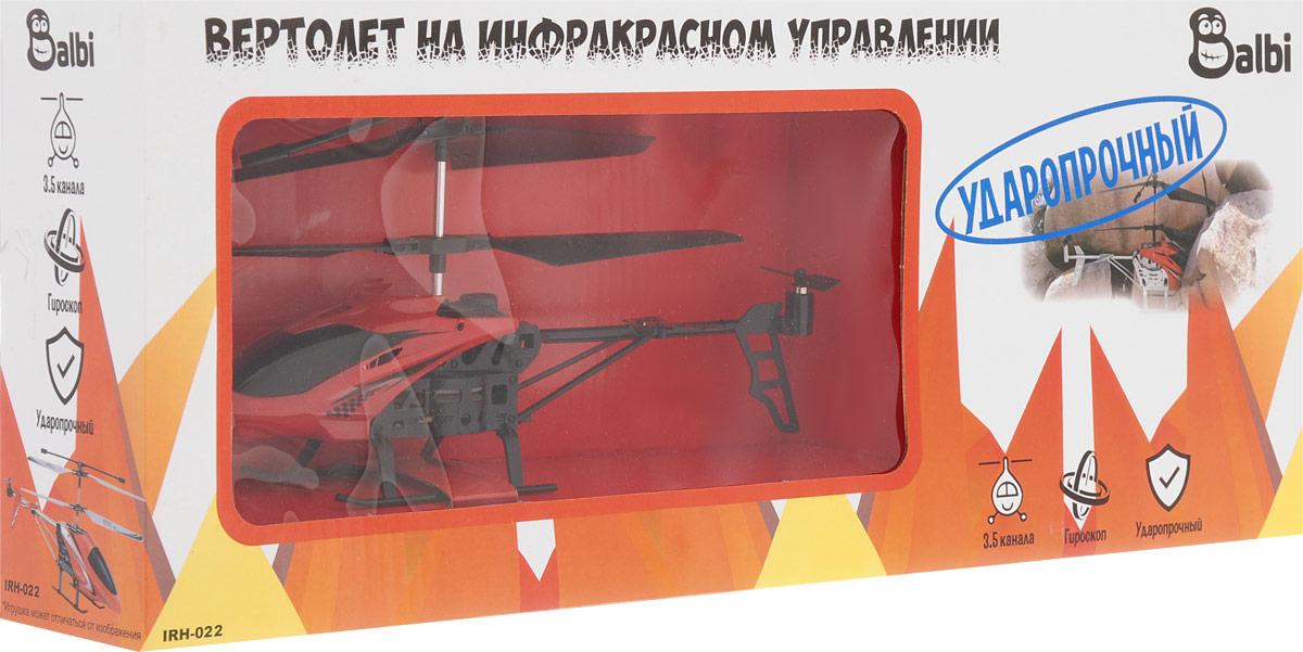 BalbiВертолет на инфракрасном управлении цвет красный черный Balbi