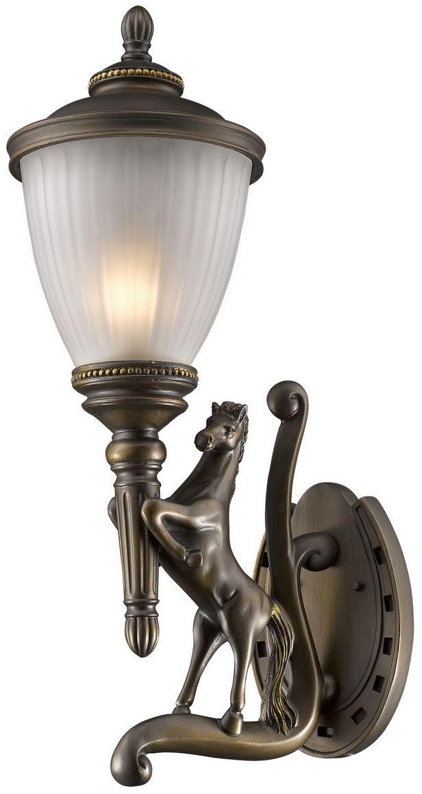 Cветильник уличный настенный Favourite Guards, 1 х E27, 60W. 1334-1WL1334-1WL