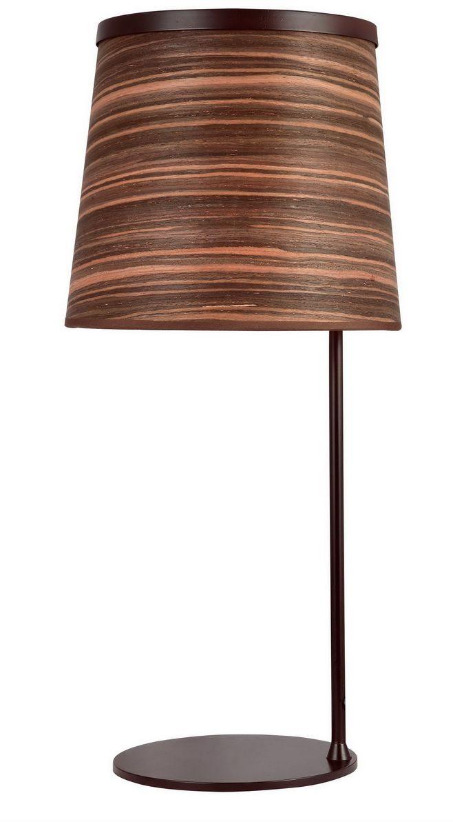 Лампа настольная Favourite Zebrano, 1 х E27, 25. 1356-1T торшер favourite zebrano 1356 1f