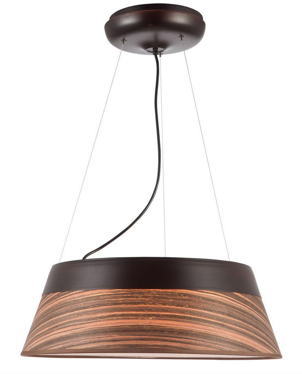 Светильник подвесной Favourite Zebrano, 5 х E27, 25. 1356-5PC торшер favourite zebrano 1356 1f